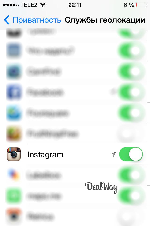 Почему в Инстаграме не определяется местоположение?